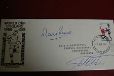 1966 WORLD CUP FDC SIGNED HURST, PETERS 5