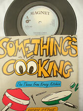 RICKY STONE SOMETHING COOKING / THEME FROM KRAZY KITCHEN magnet 287 signed