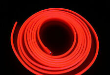 2M12V Red Neon LED Light Glow EL Wire String Strip Rope Tube Car Interior DecorQ