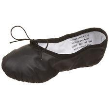 Vintage Capezio CG2002 Women's Size 7 Wide Black Split Sole Ballet Shoe