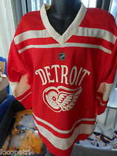 Reebok NHL Detroit Red Wings Little Kids Hockey Jersey NWT $55 4-7