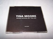 Never gonna let you go by Tina Moore CD Single 1997 Pop R&B Delirious