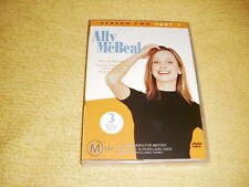 ALLY MCBEAL 2 Season Two Part 1 = 3 DVD NEW comedy TV SHOW Series 2 Part One R4