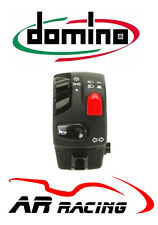 Domino Universal Handlebar Switch Horn, Indicators, Lights On/Off, Passing