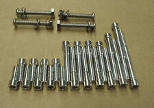 New 1948-1966 Harley Hummer, Scat, Pacer, Ranger, Super 10 Chrome Motor Screws