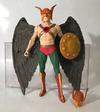 "DC Direct Hawkman 6"" Figure Deluxe 2 Pack 2000 HawkGirl Extra Head Shield Rare"