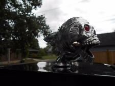 FLYING SKULL FENDER/HOOD-ORNAMENT VINTAGE HOT-ROD-RAT-ROD TRUCK/SEMI HARLEY NOS