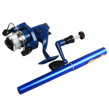 Pen Fishing Rod Travel Portable Telescop Fishing Rod with Reel Lines Tackle Kit