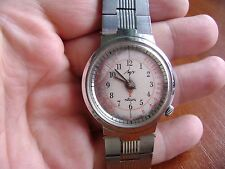 Extremely rare soviet LUCH Medical Doctors watch QUARTZ w/ Pulsometer USSR