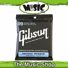 New Gibson Vintage Reissue 9-42 Nickel Wound Electric Guitar Strings - SEGVR9