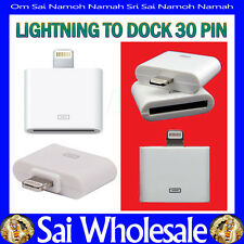 Dock 30 Pin Converter Adapter Lightning To For Apple iPhone 5 iPad 4 Mini