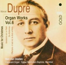Dupr': Organ Works, Vol. 6, Music for Christmas New CD