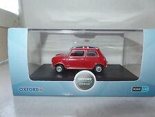 Oxford 43MIN023 MIN023 1/43 O Austin Mini Cooper Car Tartan Red Union Jack Roof