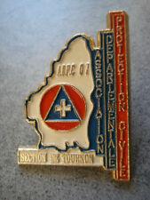 PINS ADPC ASSOCIATION DEPARTEMENTALE PROTECTION CIVILE SECTION TOURNON