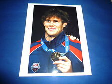 PETER MARSHALL (USA) signed Autogramm 20x25 cm In Person 4x Kurzbahnweltmeister