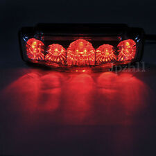 9 LED Motorcycle Quad ATV Dirt Bike Brake Running Tail Light Universal 12V Clear