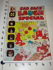 Comic: Sad Sack Laugh Special #42 / Harvey Giant - August 1968 - George Baker