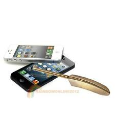 Feathers Stylus Touch Pen For iPhone 5 iPad iPod Touch Samsung Galaxy Yellow New