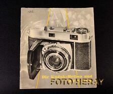 Kodak Retina und ihr System, die originale Anleitung 02370