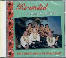 RE-UNITED - A SONG TO HAWAII CD RARITY RECORDS