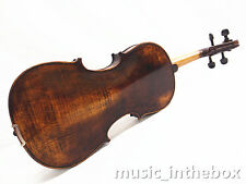 "Used/Old 16"" Viola - Antique Style Hand-made One Back +Square Case  # VA009"