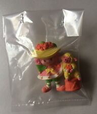 STRAWBERRY SHORTCAKE PVC MINI NEW BAGGIE : PEACH BLUSH w/ Melonie Belle 1984 #3