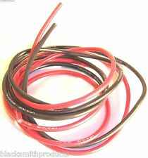 22AWG 22 AWG Silicone Wire Pair 50cm 500mm Black & Red