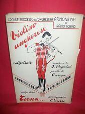 CARIGA/PAGNINI Violino Ungherese + G. TROTTI Torna... 1947 Spartiti
