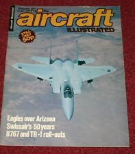Aircraft Illustrated 1981 November F-15,Swissair,TR-1,TR-1,Ramstein