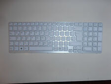 Sony VAIO AEHK5G000303A white keyboard qwerty - clavier blanc qwerty
