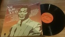 Nat King Cole At the Sands Vinyl LP Record