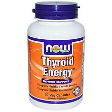 NOW THYROID ENERGY 90 VCaps Thyroid Support/Metabolism Support 24 HOUR DISPATCH!