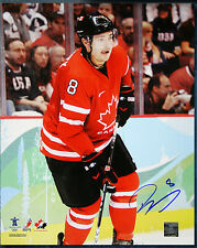 Drew Doughty SIGNED Team Canada 2010 8X10 Photo -70467