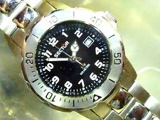 Sector 200  Lady Diver  100m NEW 31mm SS Bracelet