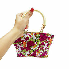 Ladies Floral Small Size Purse For Parties/Casual Use To Carry Small Things Only
