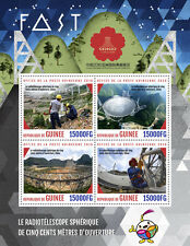 Guinea 2016 MNH FAST Radio Telescopes China 2016 4v M/S Science Stamps
