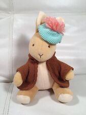 """Eden Benjamin Bunny Plush Hat Jacket Beatrix Potter Peter Rabbit Baby Toy 8"""""""