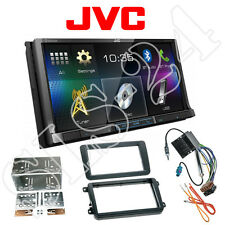 JVC Doppel-DIN DVD Bluetooth Radio VW Amarok Beetle Caddy EOS Golf V Radioblende