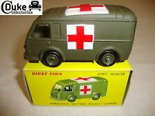 French dinky 820/80F renault goelette ambulance militaire-nr mint in orig box