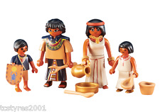 NEW and COMPLETE Playmobil History - Egyptian Family 6492