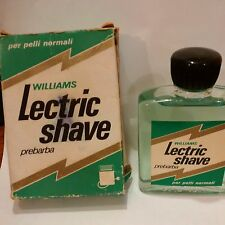 LECTRIC SHAVE WILLIAMS PRE BARBA 50ML !!!NOT VAPO RARE AND VINTAGE!!!