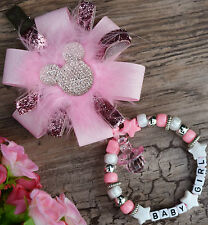 Personalised stunning pram charm in baby pink for baby girls boys ideal gift