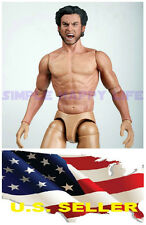 ❶ZC Toys 1/6 Muscular Figure With Wolverine Head Roar Hugh Jackman TTM19 USA❶