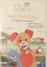 Baby Einstein - Baby's Favorite Places First Words Around Town (DVD, 2006)