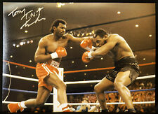 New Tony Tucker Vs Mike Tyson Signed Boxing 12x16 Photograph : B