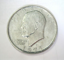 New Jumbo Giant Metal Production Magic Coin Trick US Eisenhower Ike Dollar