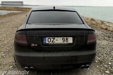 Audi A6 4F C6 04-08 Saloon Sedan Limo Carbon Fiber Spoiler rear RS S Trunk Lip