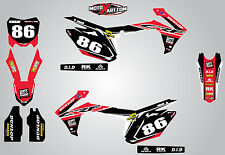 Honda CRF 450 - 2013 - 2016 Full  Custom Graphic  Kit - PYRO Style sticker kit