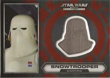 "Star Wars Chrome Perspectives - #19 of 30 Silver Helmet Medallion ""Snowtrooper"""