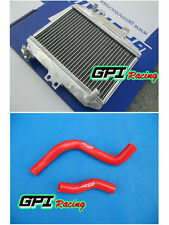 Aluminum radiator +hose for Honda CR250 CR 250 R CR250R 2-stroke 1997 1998 1999